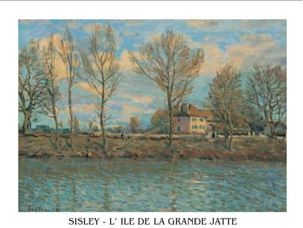 Impressão artística Island of La Grande Jatte