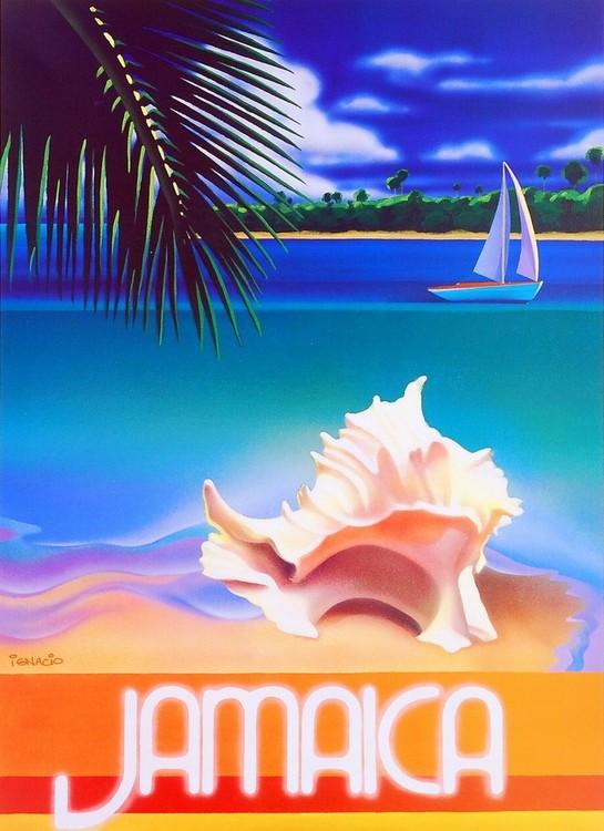 Impressão artística Jamaica