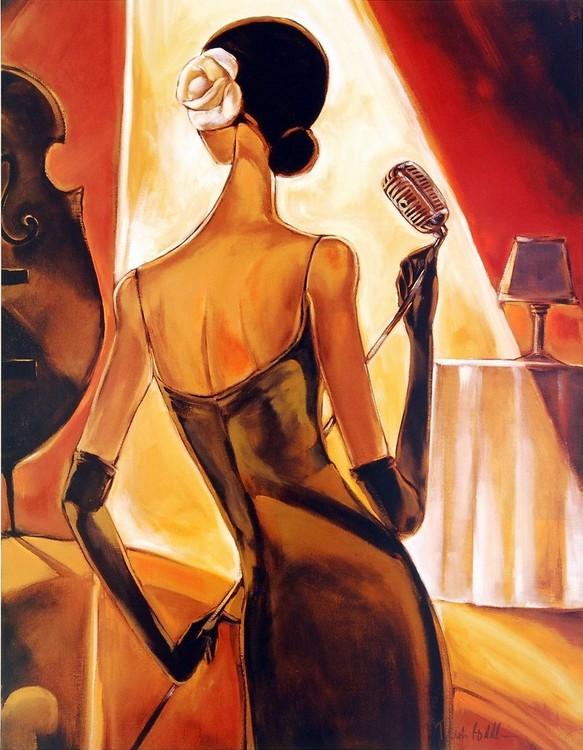 Impressão artística Jazz Samba