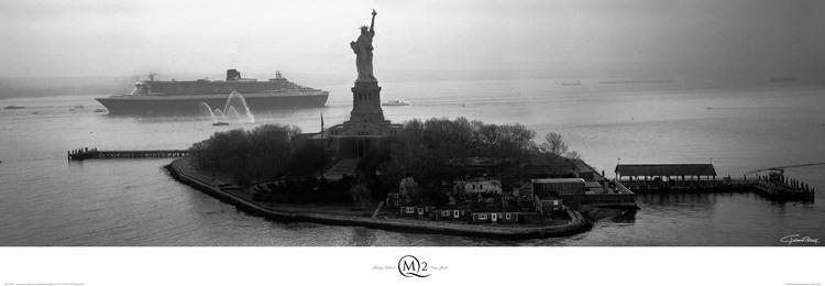 Impressão artística Liberty Island