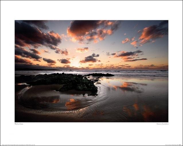 Impressão artística Marina Cano - Sunset, Cantabria