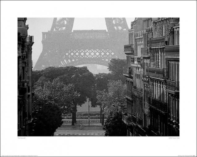 Impressão artística Paris - Eiffel Tower, Pete Seaward