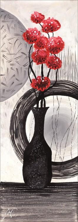 Impressão artística Red art 1