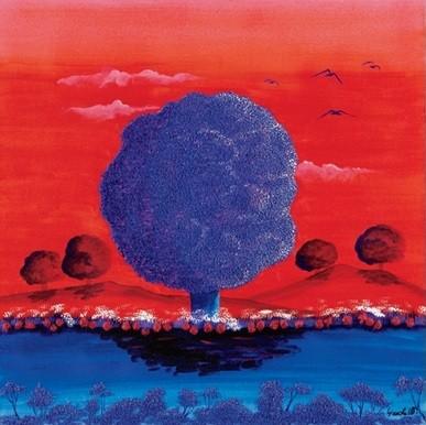 Impressão artística Red Sunset