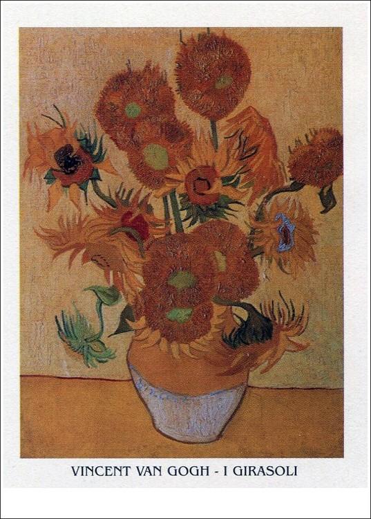 Impressão artística Sunflowers, 1888