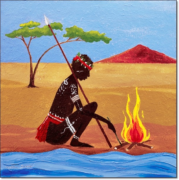 Impressão artística The Fire