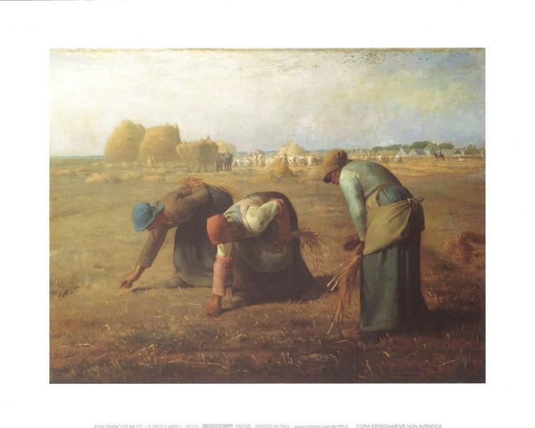 Impressão artística The Gleaners, 1857