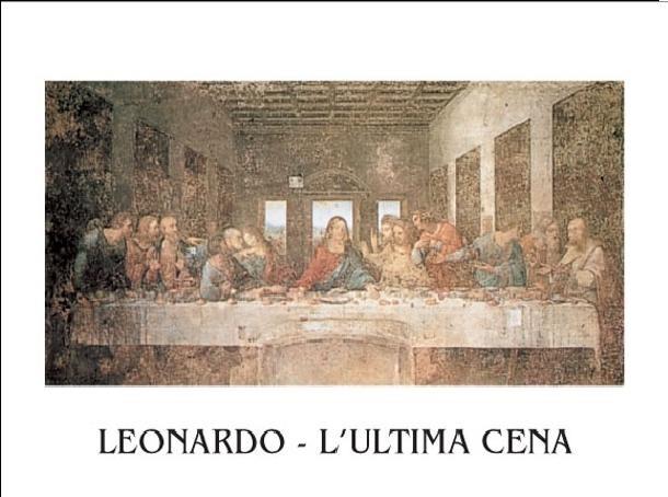 Impressão artística The Last Supper