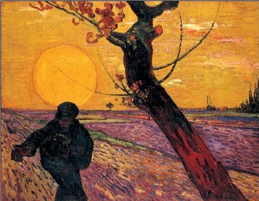Impressão artística The Sower, 1888