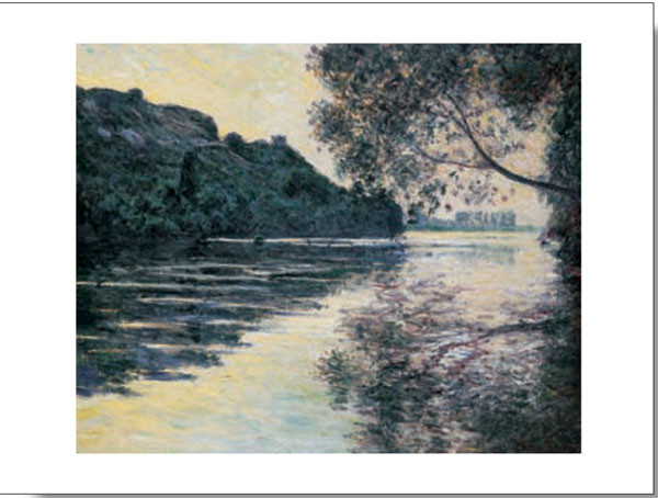 Impressão artística The Sun on The Seine