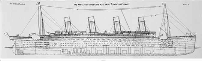 Impressão artística Titanic - Plans B