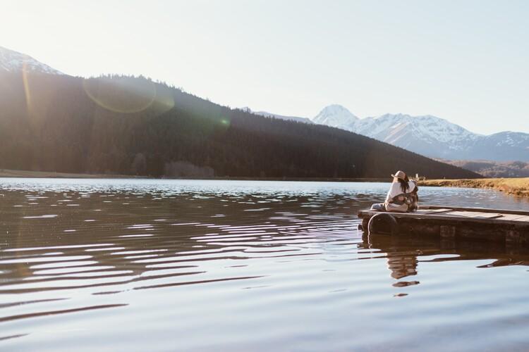 Arte Fotográfica Exclusiva adventure friends on the lake