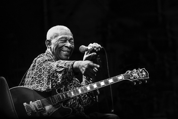 Arte Fotográfica Exclusiva BB King