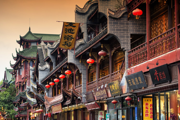 Arte Fotográfica Exclusiva China 10MKm2 Collection - Chinese Architecture