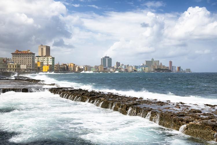 Arte Fotográfica Exclusiva Malecon Wall of Havana
