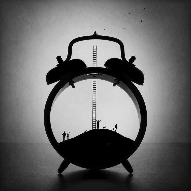 Arte Fotográfica Exclusiva Meditation. Out of time and fuss