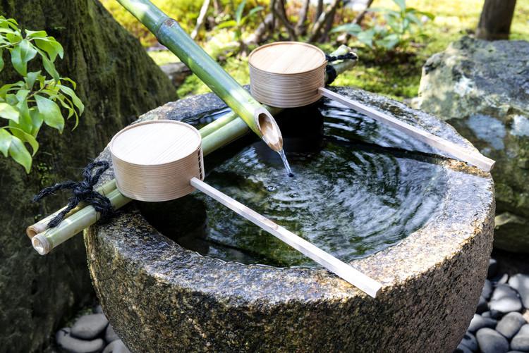 Arte Fotográfica Exclusiva Natural Japanese Fountain