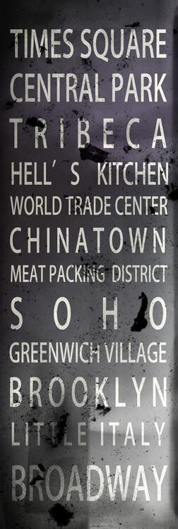 Arte Fotográfica Exclusiva New York Districts