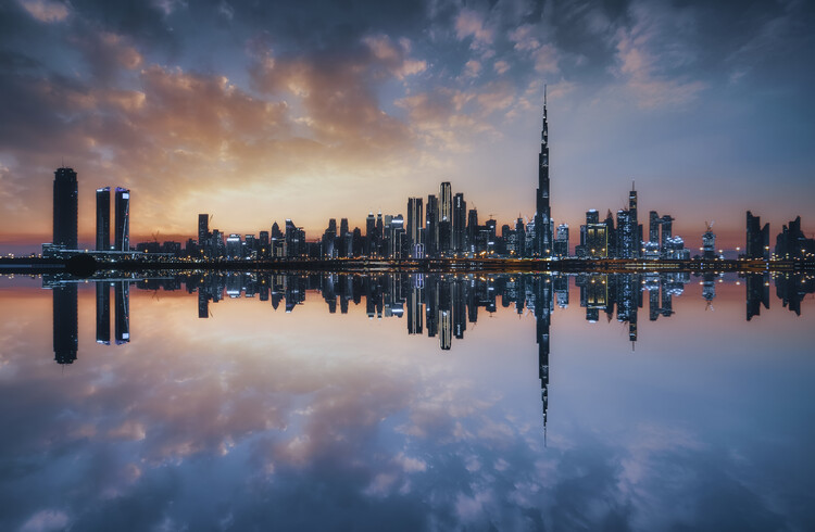 Arte Fotográfica Exclusiva Skyscrapers dxb