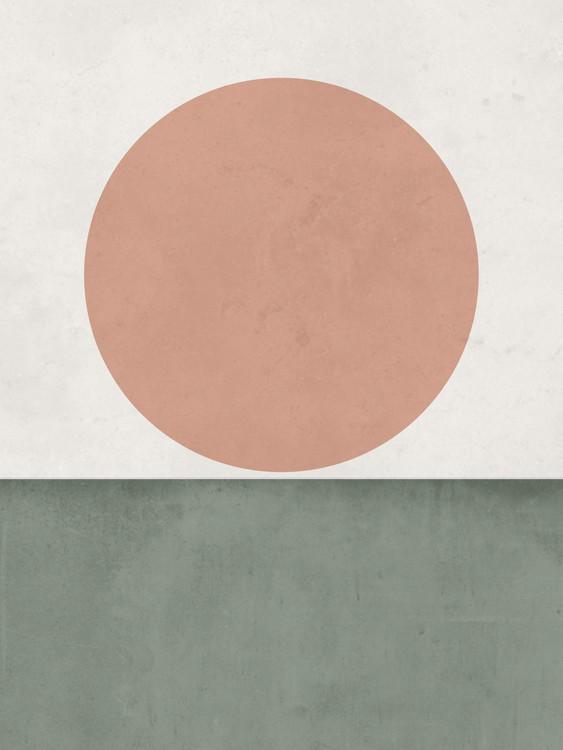 Arte Fotográfica Exclusiva abstractorangesungreen1