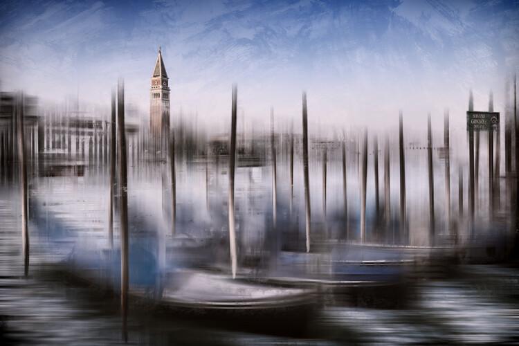Arte Fotográfica Exclusiva City Art VENICE Grand Canal and St Mark's Campanile