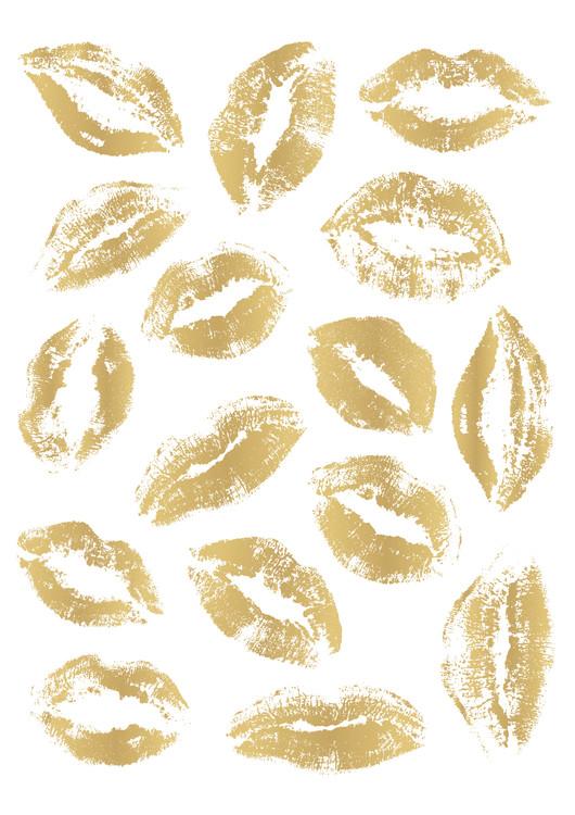 Arte Fotográfica Exclusiva Golden Kisses