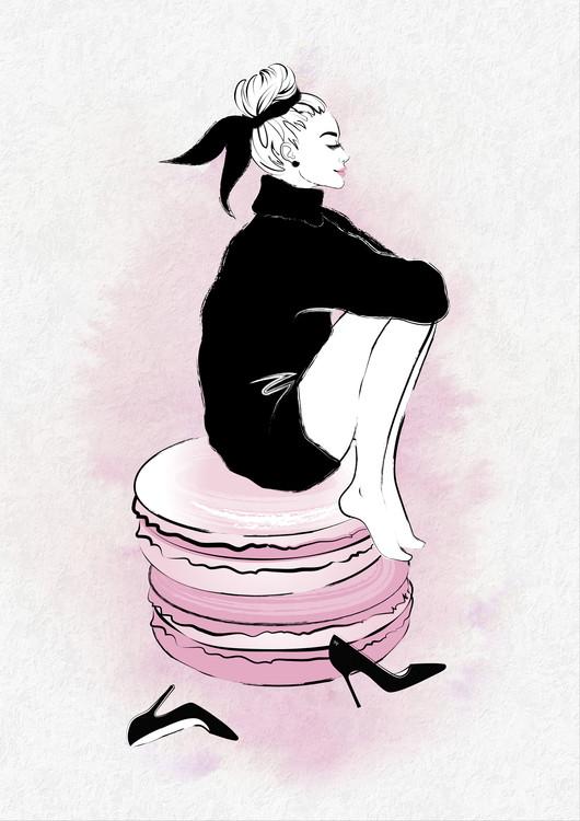 Arte Fotográfica Exclusiva Macaron Girl
