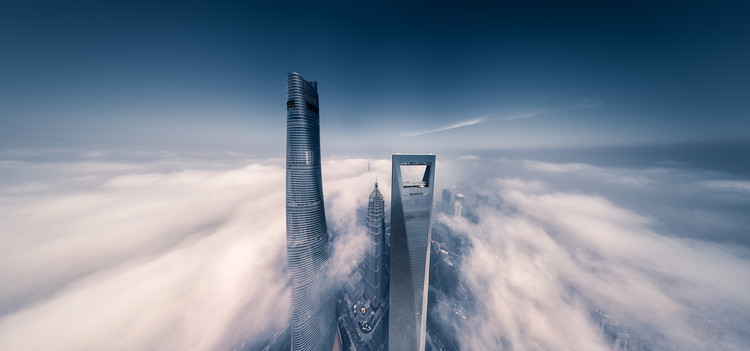 Arte Fotográfica Exclusiva Shanghai Tower