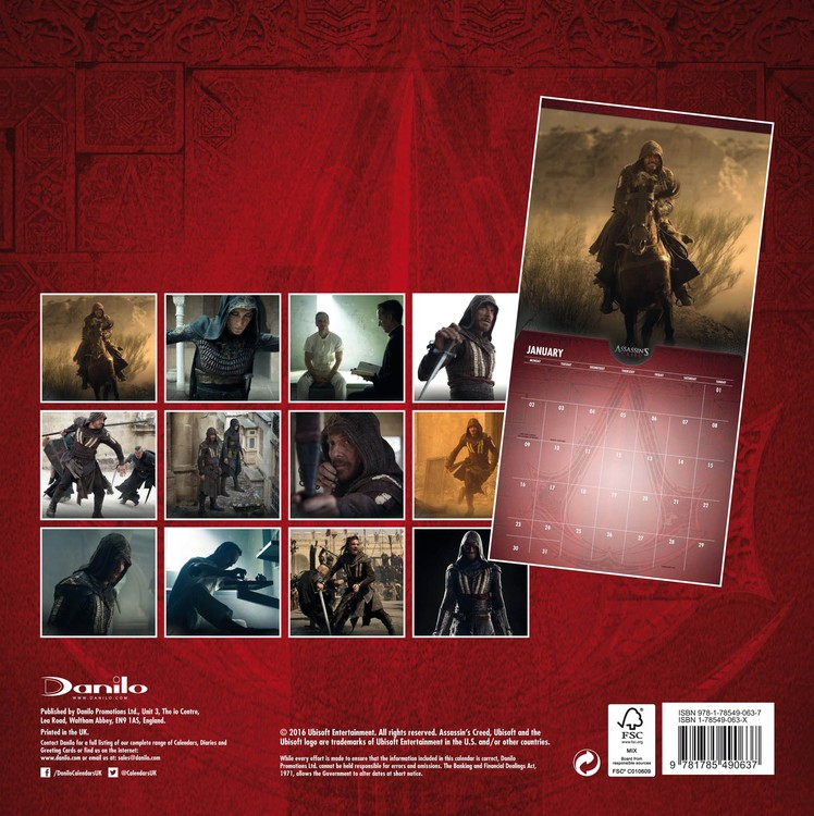 Assassin's Creed   Wall Calendars | Large selection