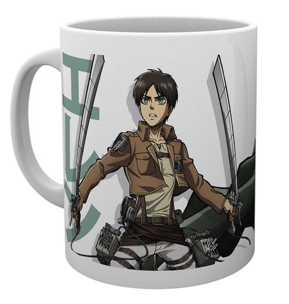 Mug Attack On Titan - Eren Duo