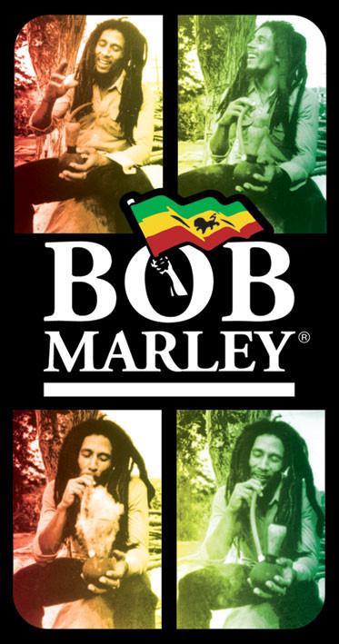 Autocolantes BOB MARLEY - bong
