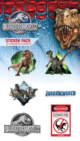 Autocolantes  Jurassic World - Mix