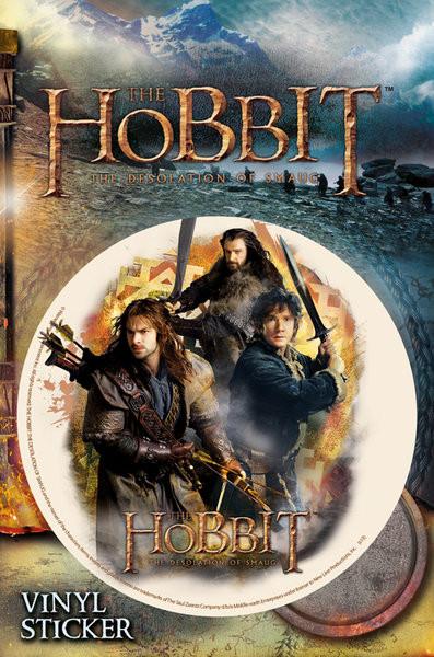 Autocolantes The Hobbit - Trio