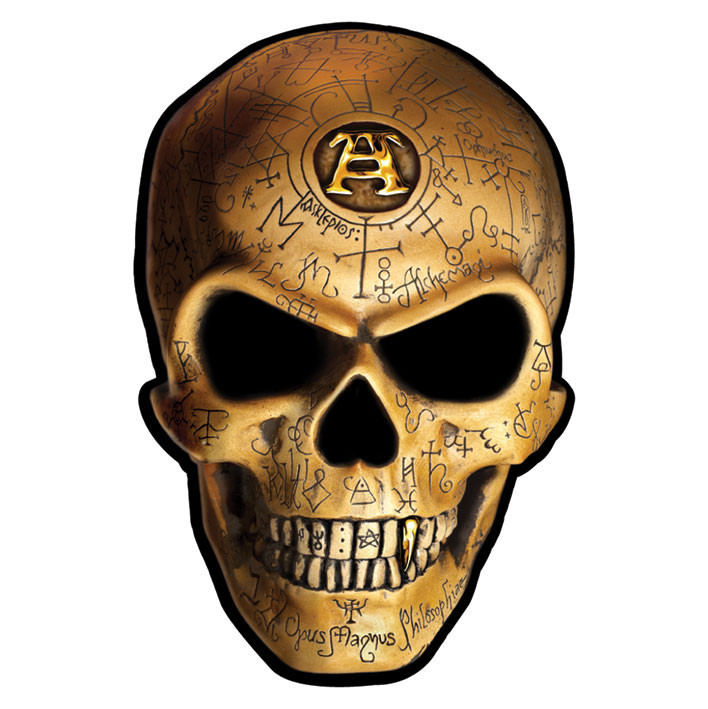 ALCHEMY - omega skull Autocollant