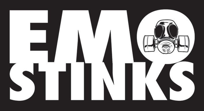 EMO STINKS Autocollant
