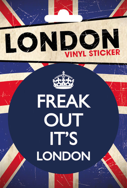 LONDON - freak out Autocollant