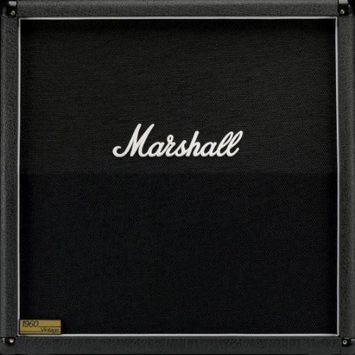 MARSHALL - square amp Autocollant