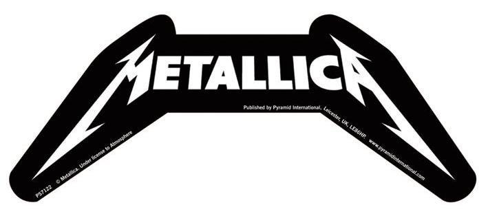METALLICA – logo  Autocollant