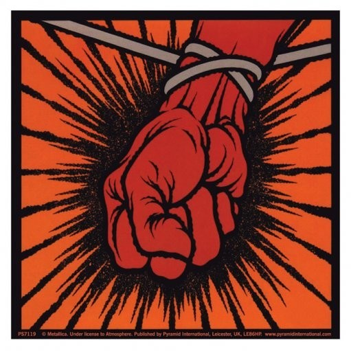 METALLICA - st.anger Autocollant