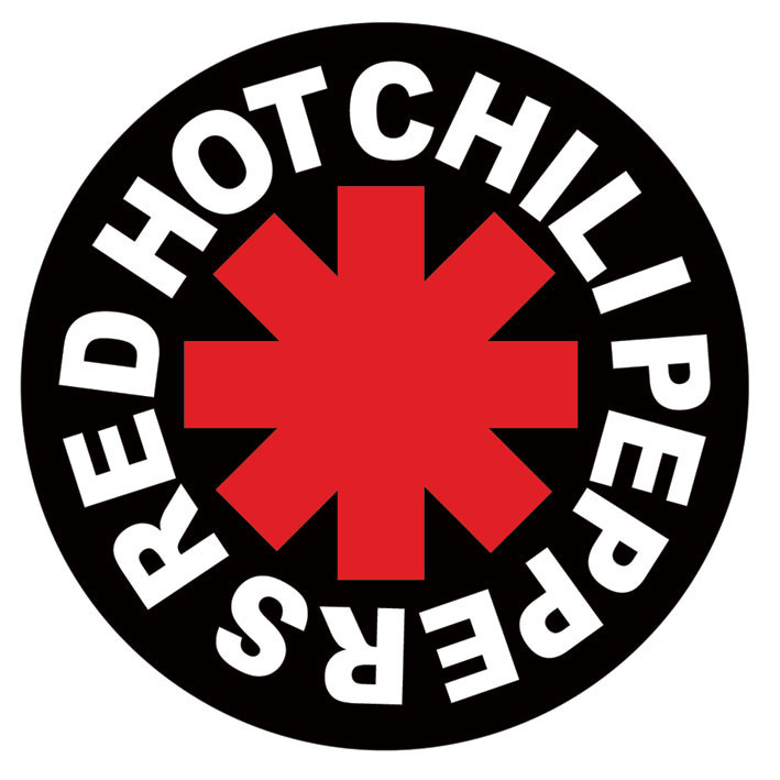 RED HOT CHILI PEPPERS - logo Autocollant