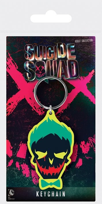 Suicide Squad - Joker Skull Avaimenperä