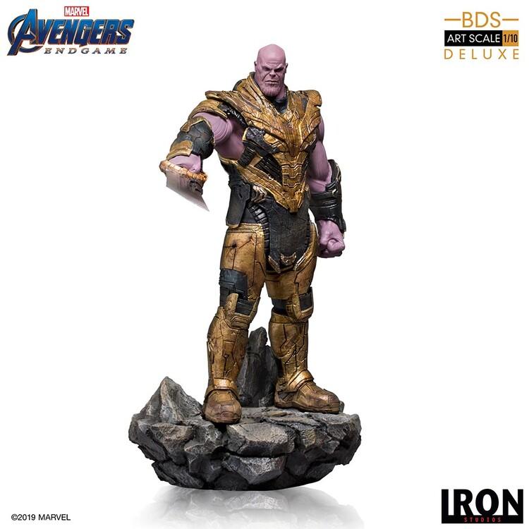 Figurine Avengers: Endgame - Black Order Thanos (Deluxe)