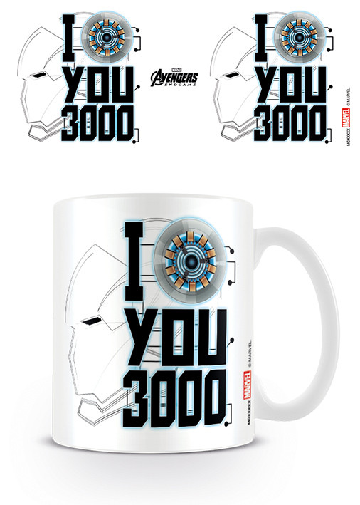 Mug Avengers: Endgame - I Love You 3000