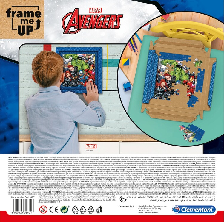 Puzzle Avengers - Frame Me Up