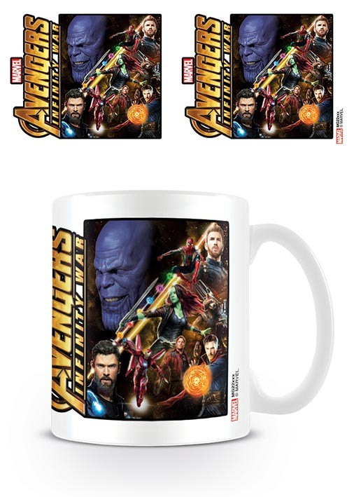 Cup Avengers Infinity War - Space Montage