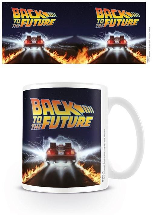 Mug Back To The Future - Delorean