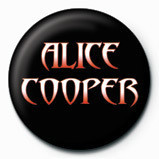ALICE COOPER - logo Badge