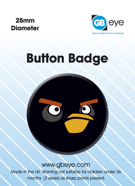 Angry Birds - Black Bird S.O.S Badge