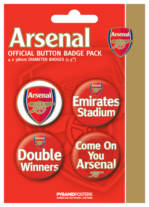 ARSENAL FC - d. winner Badge Pack