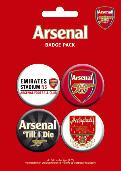 ARSENAL - pack 2 Badge Pack